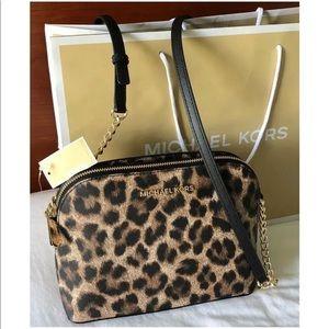 $168 Michael Kors Cindy Crossbody Handbag MK Bag